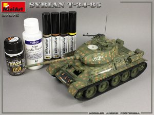 Build up 37075 SYRIAN T-34/85