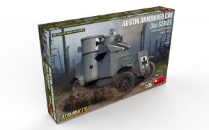 Content box 39010 AUSTIN ARMOURED CAR 3rd SERIES: GERMAN, AUSTRO-HUNGARIAN, FINNISH SERVICE. INTERIOR KIT