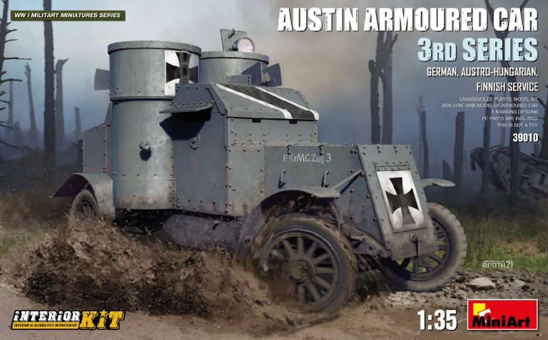 AUSTIN ARMOURED CAR 3rd SERIES: GERMAN, AUSTRO-HUNGARIAN, FINNISH SERVICE. INTERIOR KIT