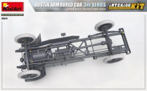 3D renders 39010 AUSTIN ARMOURED CAR 3rd SERIES: GERMAN, AUSTRO-HUNGARIAN, FINNISH SERVICE. INTERIOR KIT