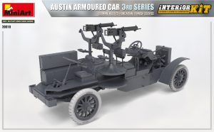 3D renders 39010 AUSTIN ARMOURED CAR 3rd SERIES: GERMAN, AUSTRO-HUNGARIAN, FINNISH SERVICE. INTERIOR KIT