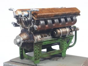 35205 T-34 Engine V-2-34 & TRANSMISSION SET + Danny Jeurissen