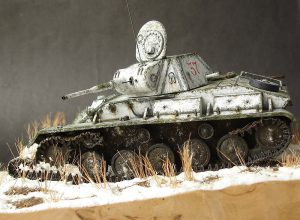 35194 T-70M SOVIET LIGHT TANK w/CREW. SPECIAL EDITION + Alexey Ant