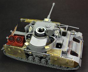 35342 Pz.Kpfw.IV Ausf. J Nibelungenwerk Late Prod. (Jan – Feb 1945) INTERIOR KIT + Matt Sz Miniatures Workshop