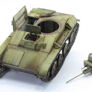 35215 T-60 EARLY SERIES. SOVIET LIGHT TANK. INTERIOR KIT + Zalo studio.mausher