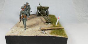 35033 GERMAN 7,62 сm GUN FK288(r) w/CREW + Ricardo Lyons Gutierrez