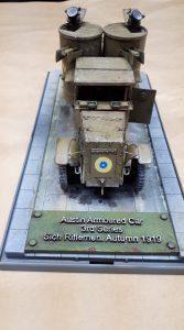 39005 AUSTIN ARMORED CAR 3rd SERIES: UKRAINIAN, POLISH, GEORGIAN, ROMANIAN SERVICE. INTERIOR KIT + Greg Harker