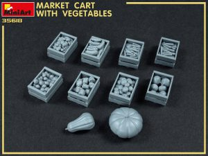 Build up 35623 MARKET CART WITH VEGETABLES