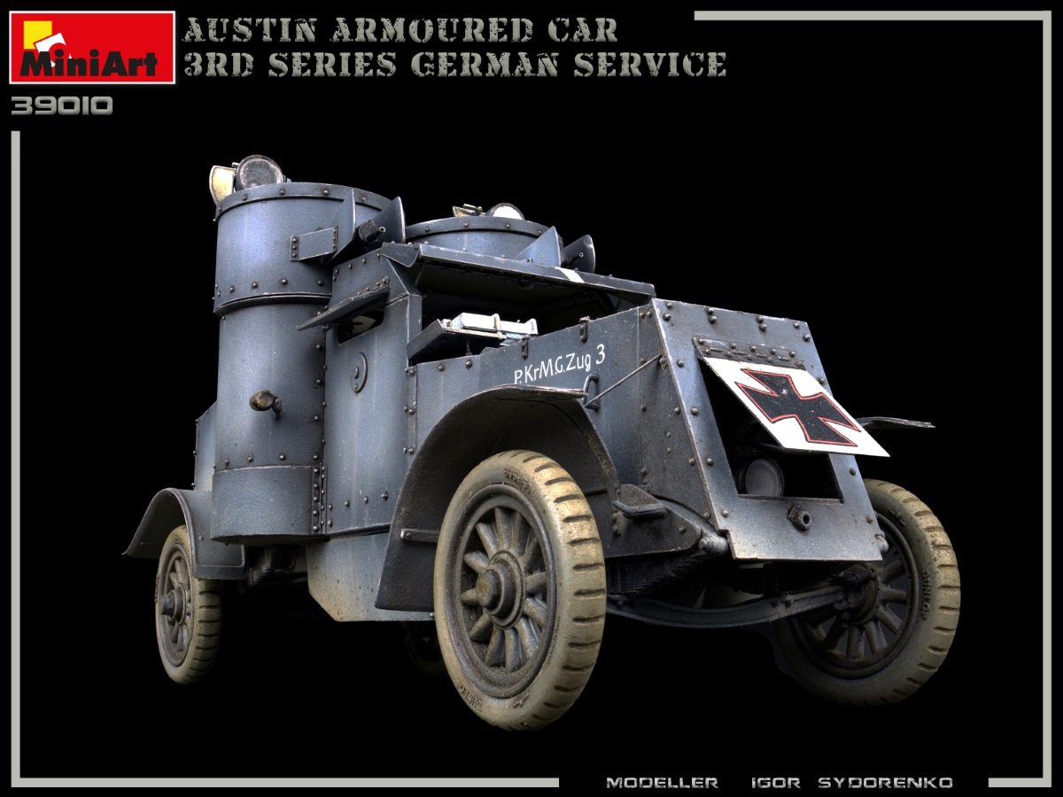 New Photos of Kit: 39010 AUSTIN ARMOURED CAR 3rd SERIES: GERMAN, AUSTRO-HUNGARIAN, FINNISH SERVICE. INTERIOR KIT