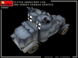 Photos 39010 AUSTIN ARMOURED CAR 3rd SERIES: GERMAN, AUSTRO-HUNGARIAN, FINNISH SERVICE. INTERIOR KIT