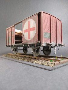 "35300 SOVIET RAILWAY WAGON ""TEPLUSHKA"" + Paul Hawkes"