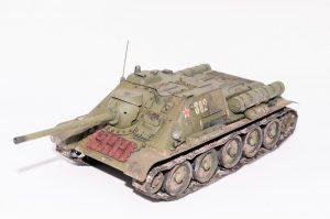 35204 SU-85 SOVIET SELF-PROPELLED GUN Mod. 1944 EARLY PRODUCTION. INTERIOR KIT by Anh Viet Vu