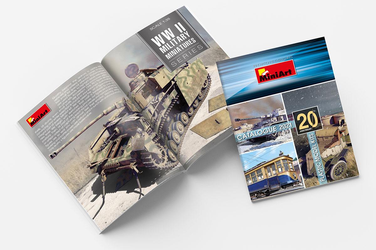 MiniArt Models Catalogue 2021