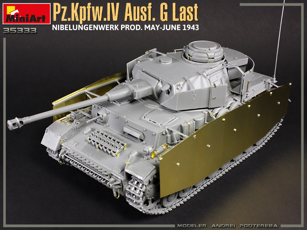 Build Up Photos of Kit: 35333 Pz.Kpfw.IV Ausf. G Last/Ausf. H Early. NIBELUNGENWERK PROD. MAY-JUNE 1943. 2 IN 1 INTERIOR KIT