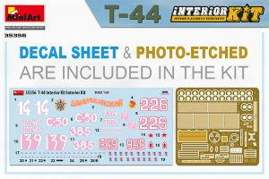 Content box 35356 T-44 INTERIOR KIT