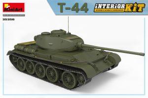 3D renders 35356 T-44 INTERIOR KIT