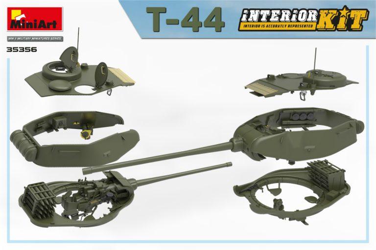 35356 T-44 INTERIOR KIT