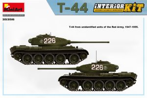 Side views 35356 T-44 INTERIOR KIT