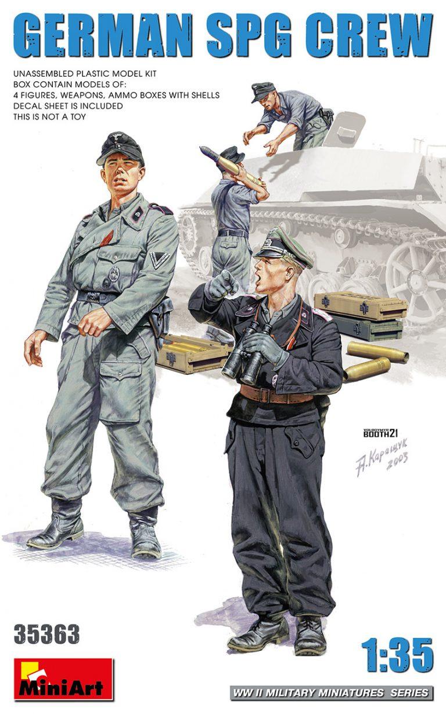 35363 GERMAN SPG CREW