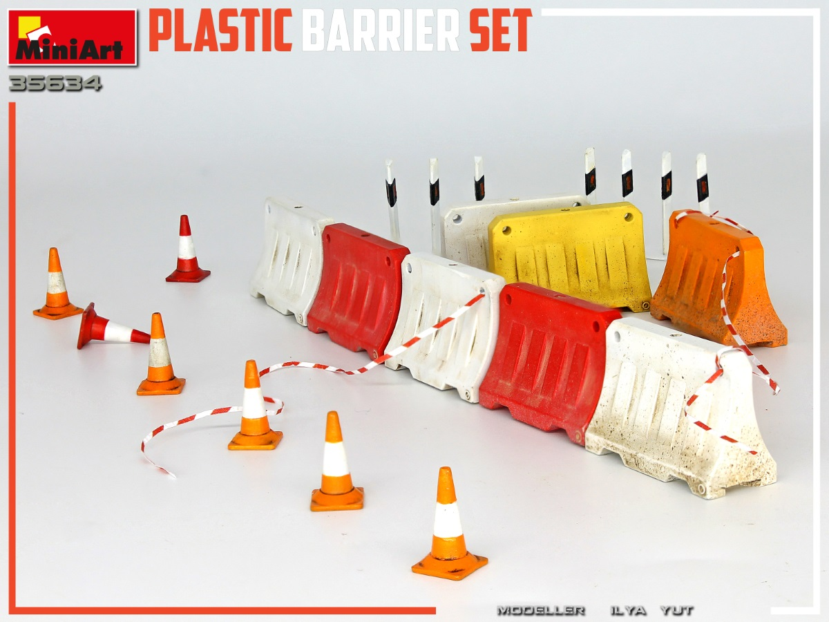 New Photos of Kit: 35634 PLASTIC BARRIER SET