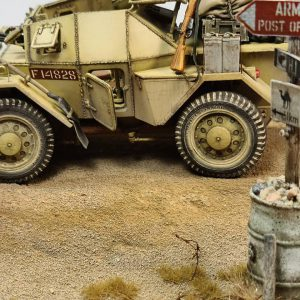 35067 DINGO Mk.1b BRITISH SCOUT CAR w/CREW + Christian Pinalli