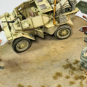 35067 DINGO Mk.1b BRITISH SCOUT CAR w/CREW + Christian Pinalli