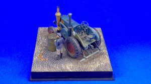 38029 GERMAN TRACTOR D8506 MOD. 1937  38011 SOVIET VILLAGERS by Jonathan Mock