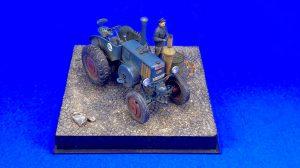 38029 GERMAN TRACTOR D8506 MOD. 1937  38011 SOVIET VILLAGERS by Jonathan Mock