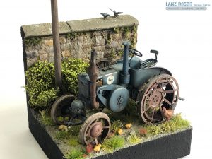 38024 GERMAN AGRICULTURAL TRACTOR D8500 MOD. 1938 by Reem Scale Models