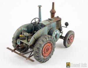 38029 GERMAN TRACTOR D8506 MOD. 1937  Konrad Dzik