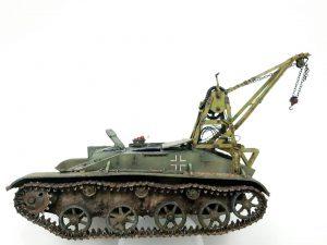 35238 BERGEPANZER T-60 (r) INTERIOR KIT + George Mefsut