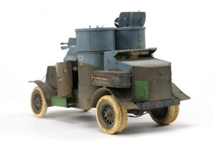 39009 AUSTIN ARMOURED CAR 1918 PATTERN. BRITISH SERVICE. WESTERN FRONT. INTERIOR KIT by Mark Chisholm