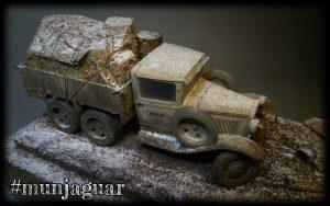 35136 GAZ-AAA Mod. 1940. CARGO TRUCK by Ilya Golovachev
