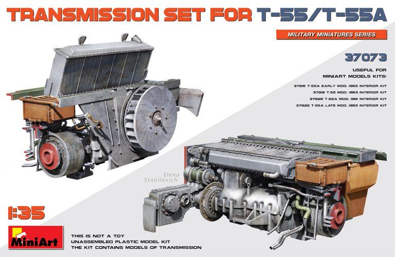 37073 TRANSMISSION SET FOR T-55/T-55A