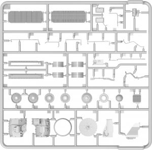 Content box 37073 TRANSMISSION SET FOR T-55/T-55A