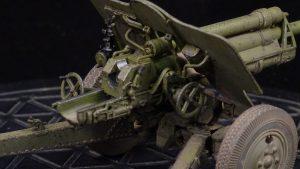 35129 USV-BR 76-mm GUN Mod.1941 w/ LIMBER AND CREW + Evgeny