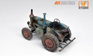 38029 GERMAN TRACTOR D8506 MOD. 1937 + Denis Panov