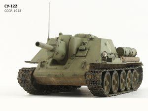 35181 SU-122 Early Production + Sergey Rusakov