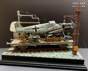 35529 METAL TELEGRAPH POLES + 35567 RAILROAD WATER CRANE + Michael Bauch