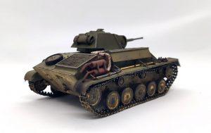 35026 GERMAN Pz. Kpfw. T-70 743(r) w/CREW + Oleksii Kozhevin