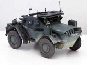 35074 DINGO Mk.II SCOUT CAR w/CREW Pz.Kmpf. Mk.I 202(e) by blueknightmodels
