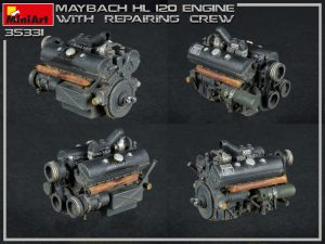 Photos 35331 MAYBACH HL 120 ENGINE FOR PANZER III/IV FAMILY WITH REPAIR CREW