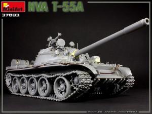 Build Up Photos of Kit: 37083 NVA T-55A