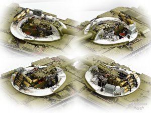 37009 T-54A INTERIOR KIT + Alexey Balin