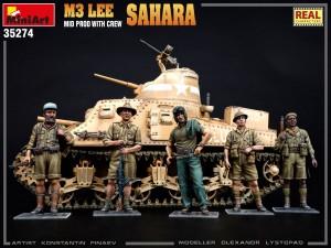 New Photos of Kit: 35274 M3 LEE MID PROD. SAHARA w/CREW