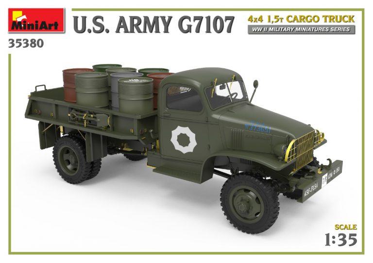 35380 U.S. ARMY G7107 4X4 1,5t CARGO TRUCK