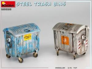 35636 STEEL TRASH BINS + Ilya Yut