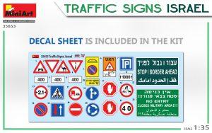 Content box 35653 TRAFFIC SIGNS. ISRAEL