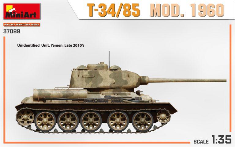 37089 T-34/85 MOD. 1960