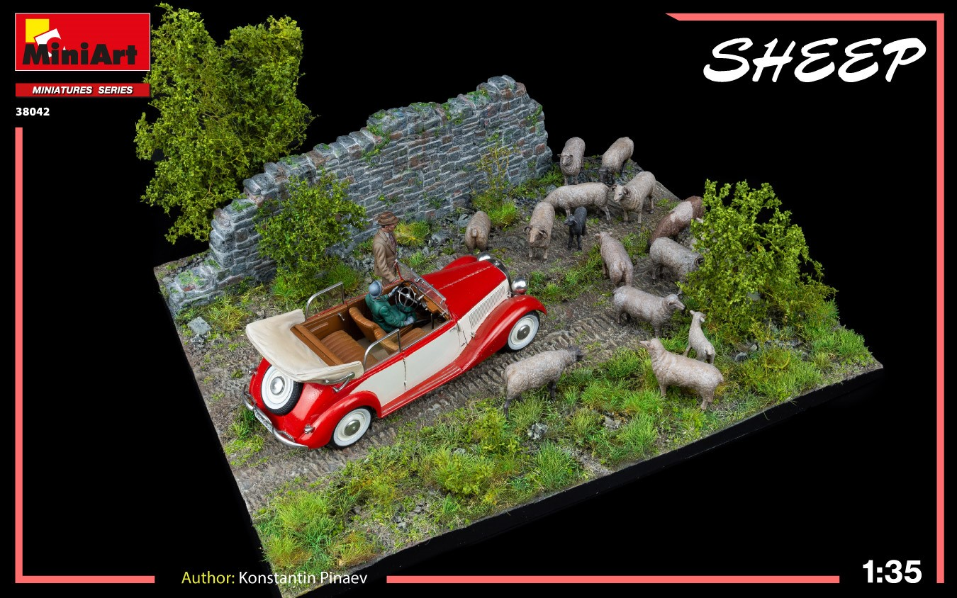 New Photos of Kit: 38042 SHEEP